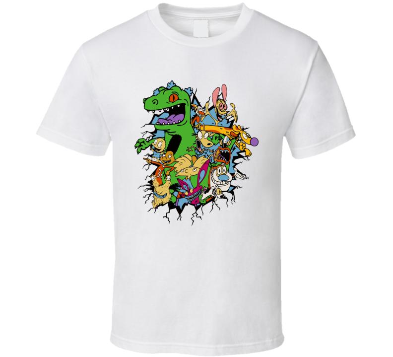 Rugrats Reptar T Shirt
