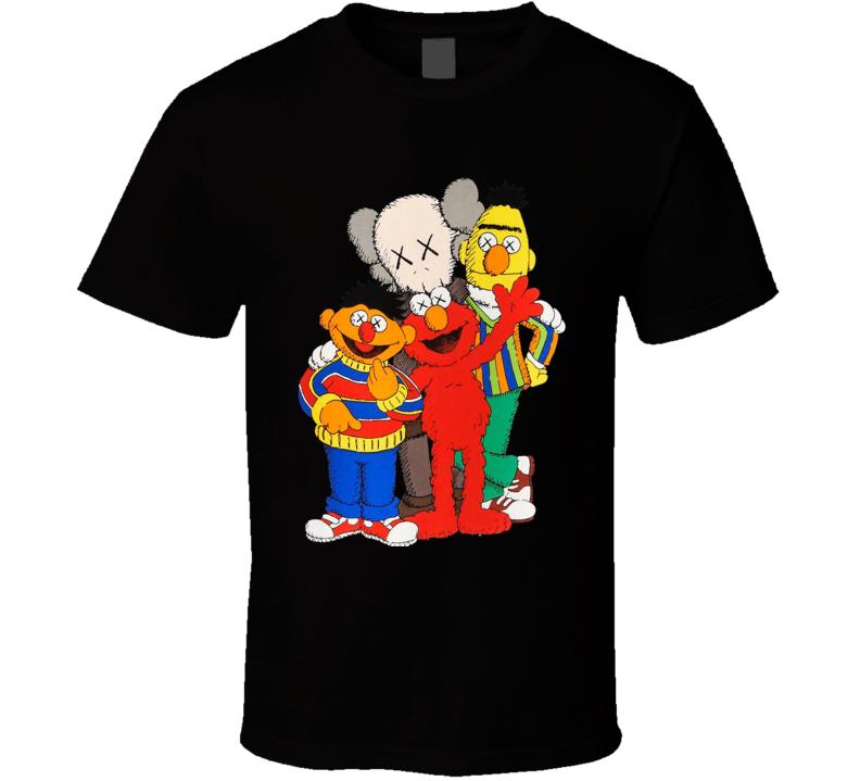 Kaws X Sesame Street T Shirt
