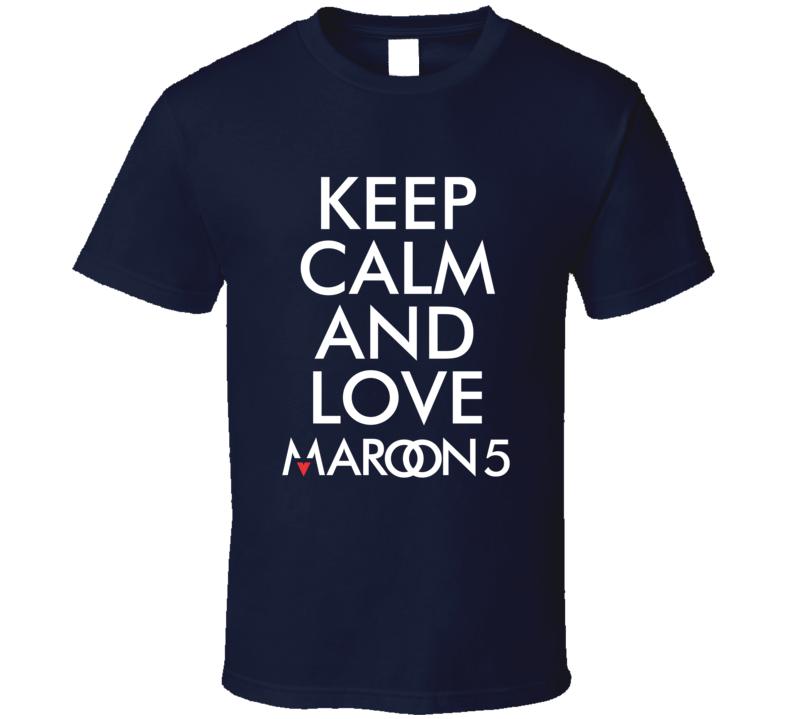 Maroon 5 Band  T Shirt
