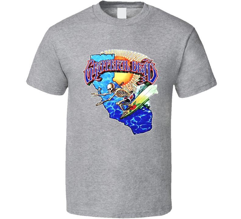 Grateful Dead Band Sport Grey T Shirt