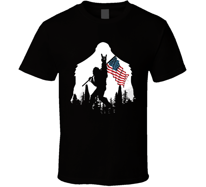 Bigfoot Victory T Shirt