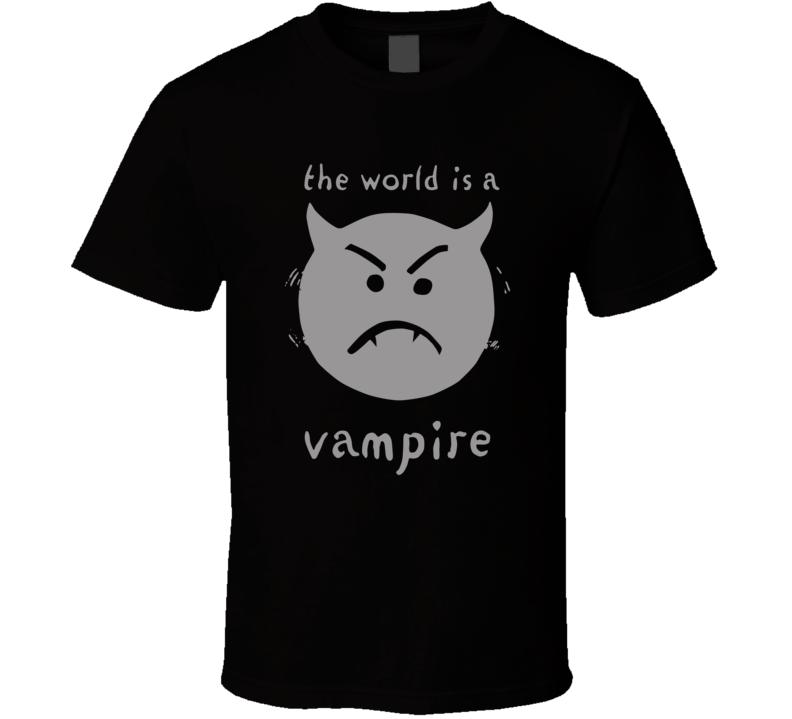 The World Is A Vampire Smashing Pumpkins T Shirt