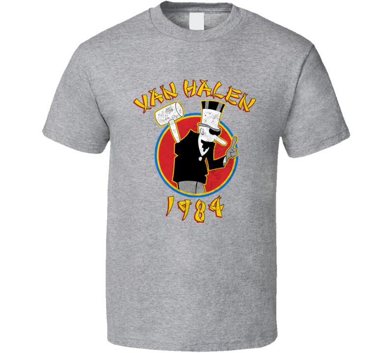 Van Halen 1984 Band T Shirt