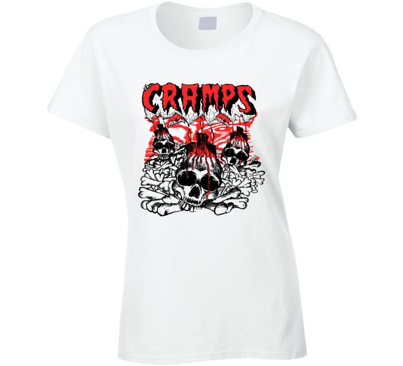 The Cramps Band Women Ladies T Shirt