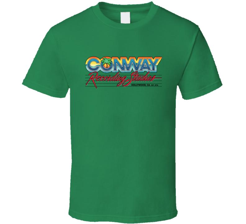 Conway Recording Studios Green T Shirt