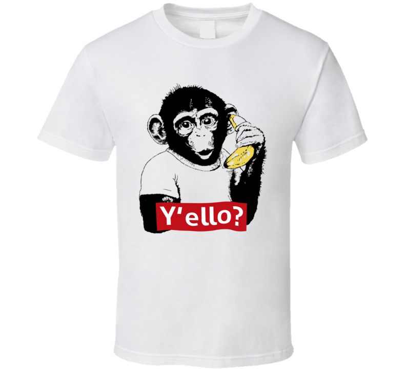 Monkey  Y'ello T Shirt