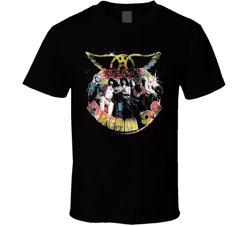 Aerosmith Dream On Portrait T Shirt
