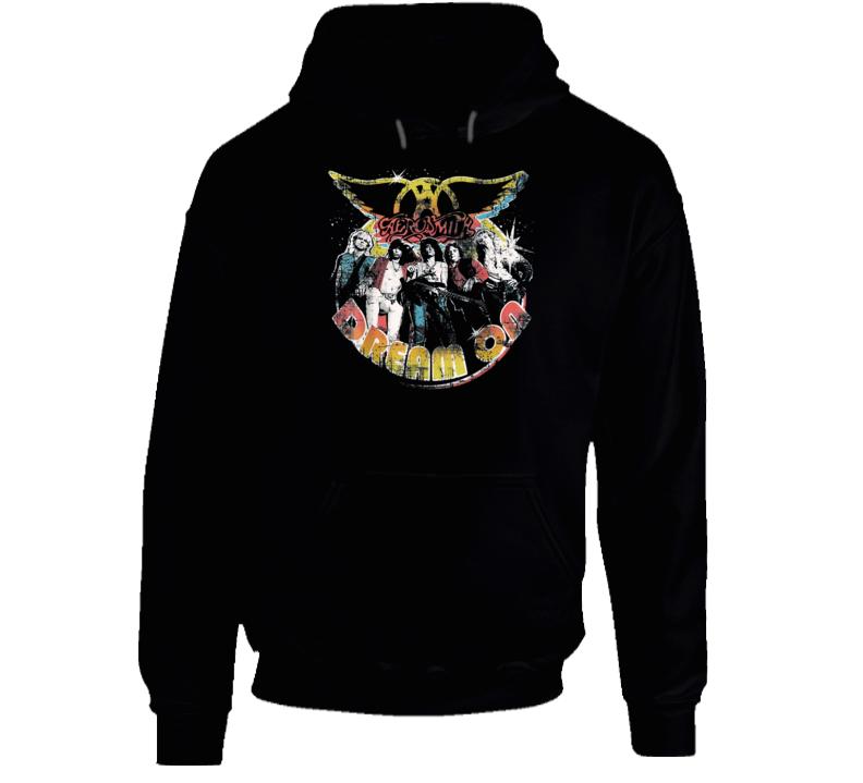 Aerosmith Dream On Portrait Hoodie