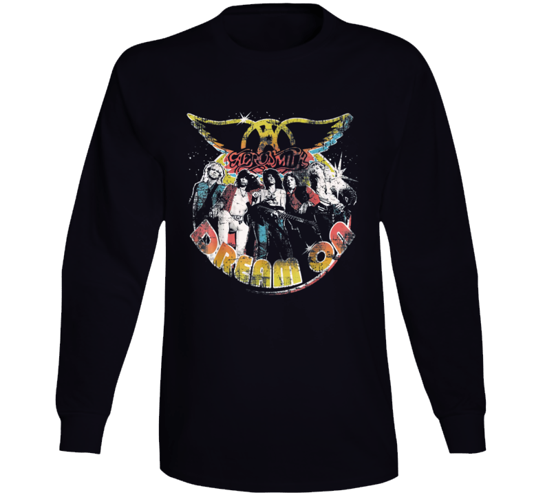Aerosmith Dream On Portrait Long Sleeve T Shirt