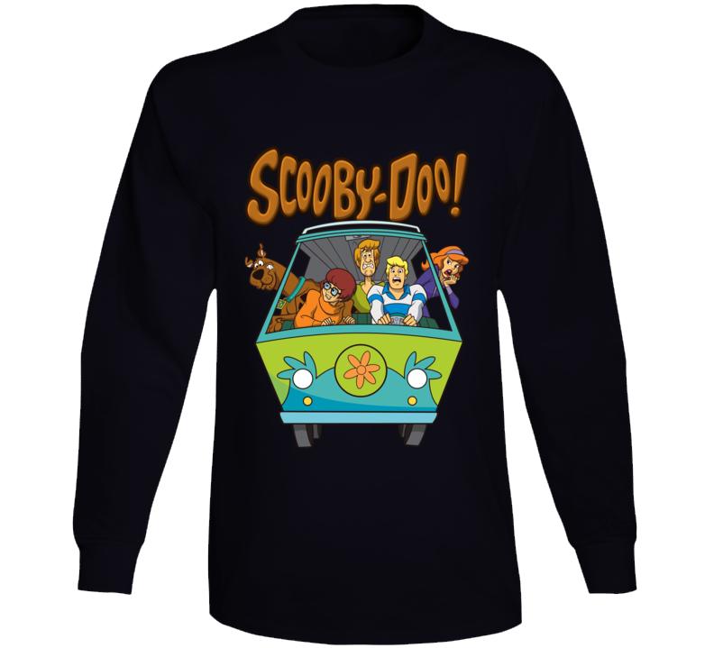 Scooby Doo Long Sleeve T Shirt