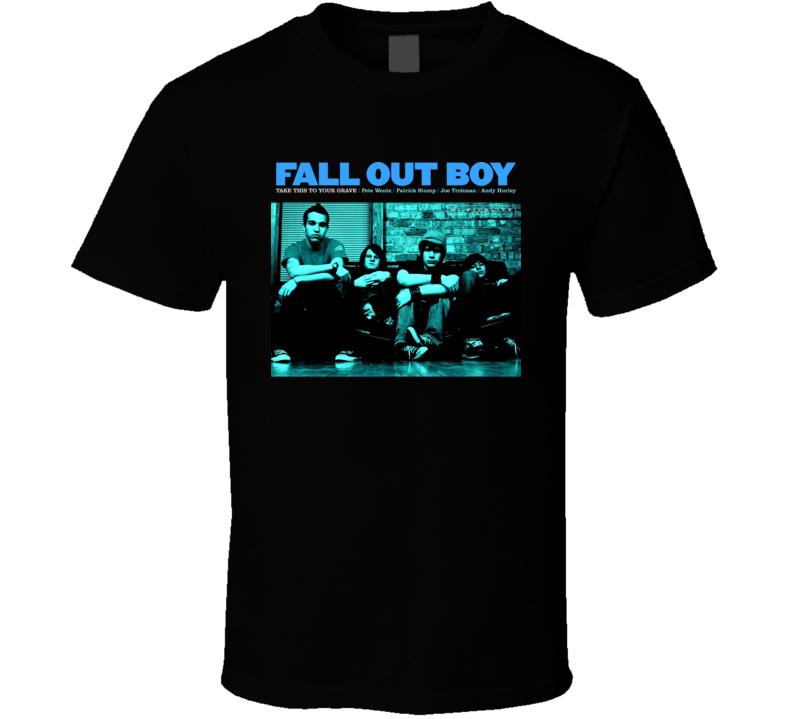Fall Out Boy Take This Band T Shirt