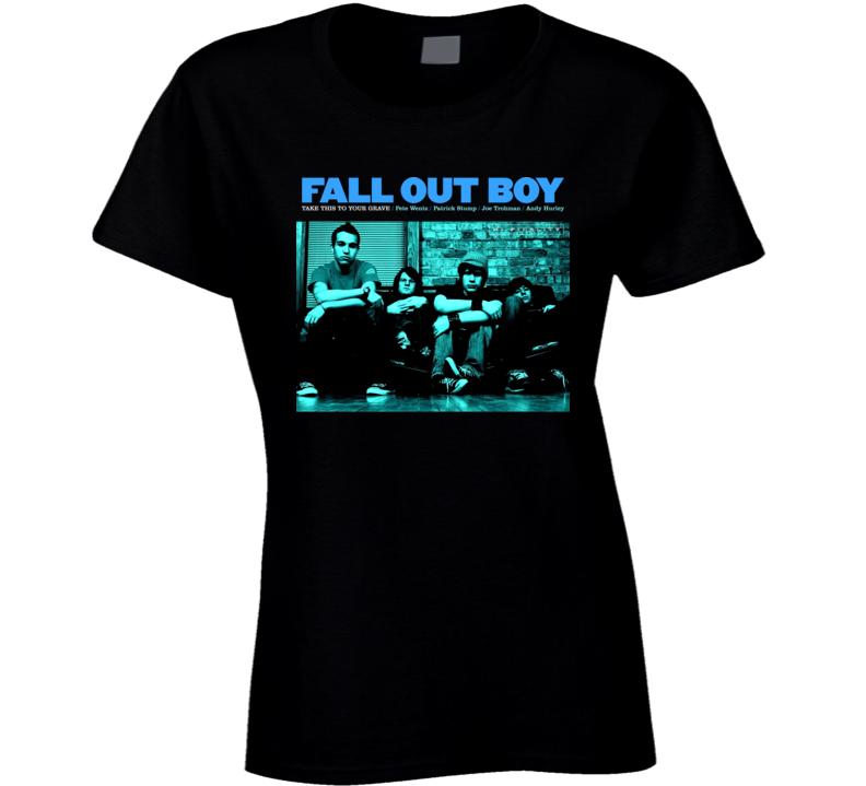 Fall Out Boy Take This Band Ladies T Shirt