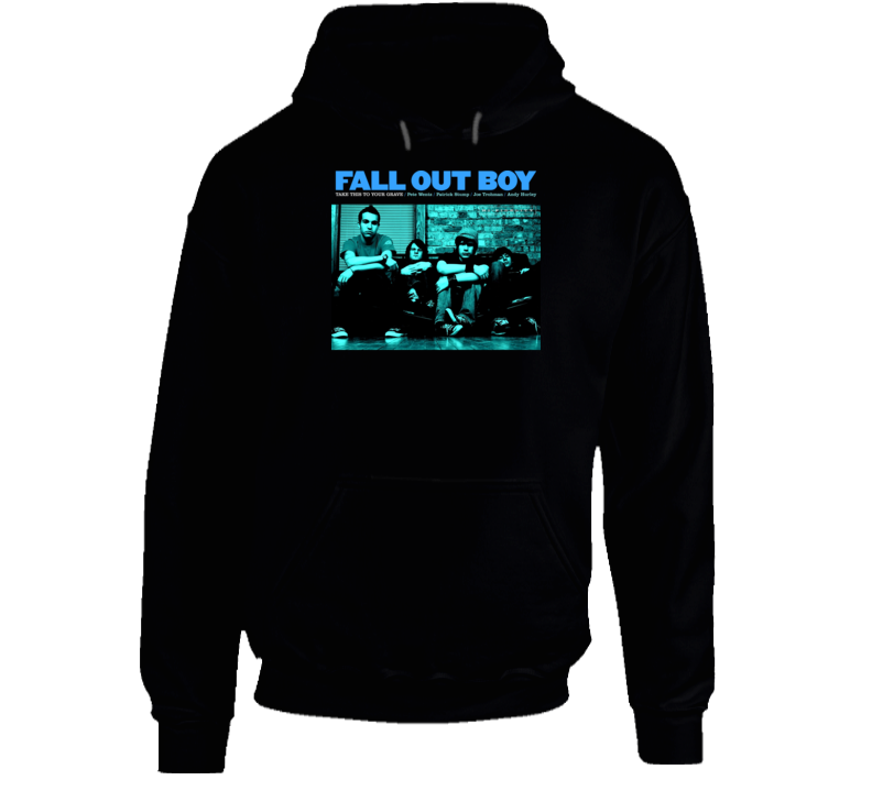 Fall Out Boy Take This Band Hoodie