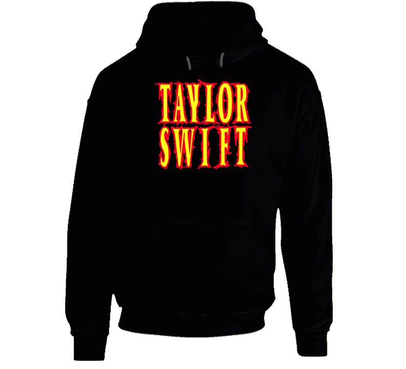 Taylor Swift Band Metal Words Hoodie