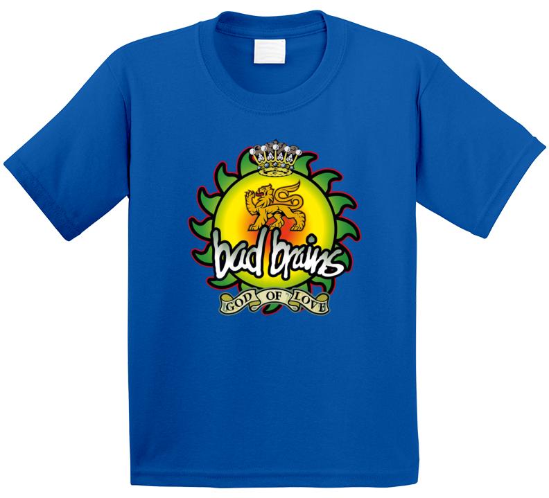 Bad Brains God Of Love Band T Shirt
