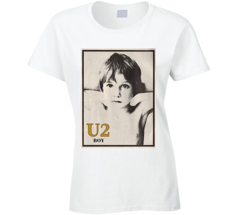 Boy U2 Band Ladies T Shirt