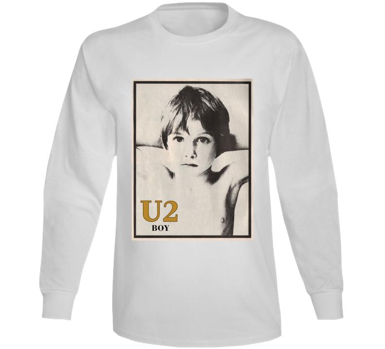 Boy U2 Band Long Sleeve T Shirt