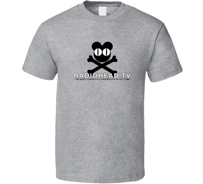 Tv Radiohead Band T Shirt