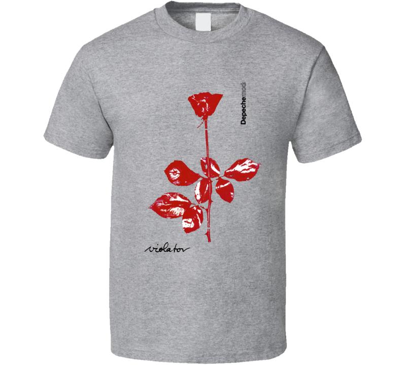 Depeche Mode Band Sport Grey T Shirt