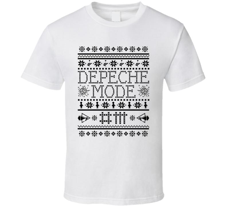 Depeche Mode Band Ugly Sweater Style Christmas T Shirt