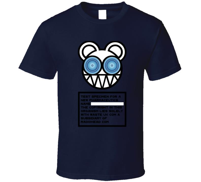 Test Specimen Radiohead Band T Shirt