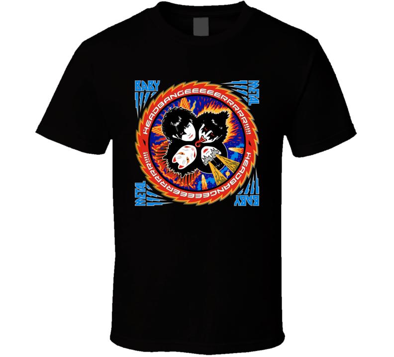 Babymetal Kiss Band T Shirt