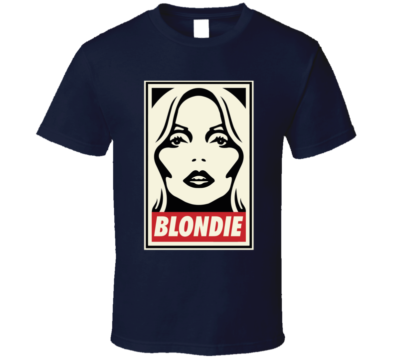 Blondie Debbie Harry Band  T Shirt