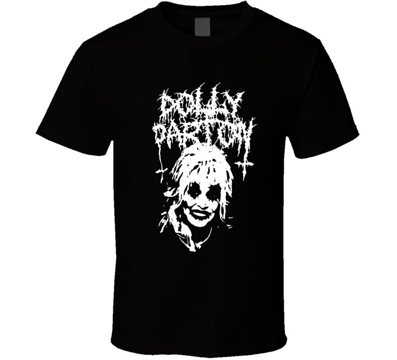 Metal Dolly Parton T Shirt