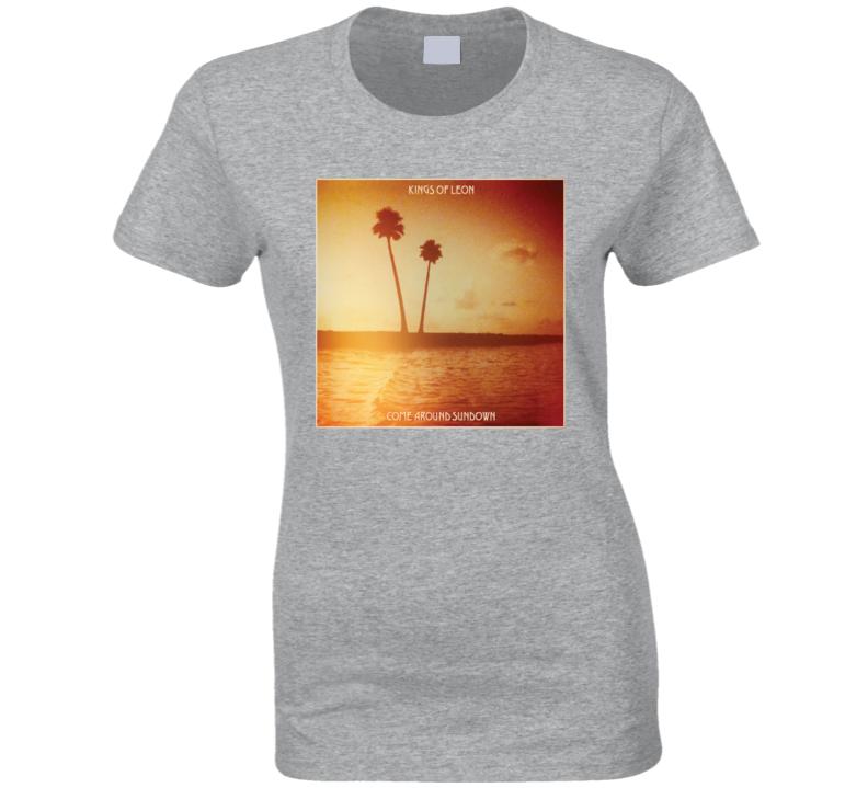 Sundown King Of Leon Ladies T Shirt
