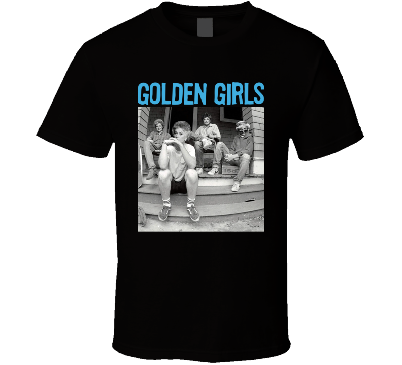 Golden Girls Minor Threat Mash Up Funny T Shirt