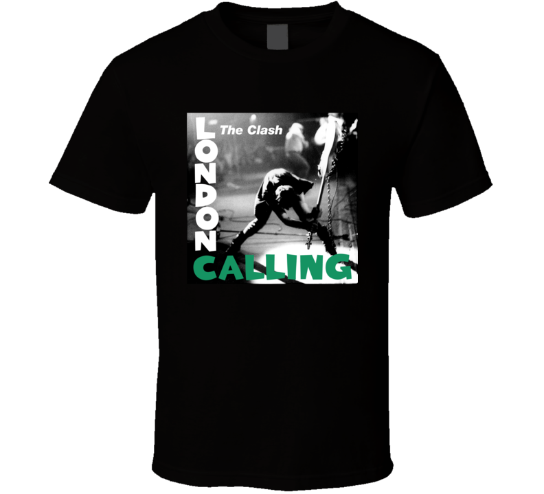 The Clash  London Calling Band T Shirt