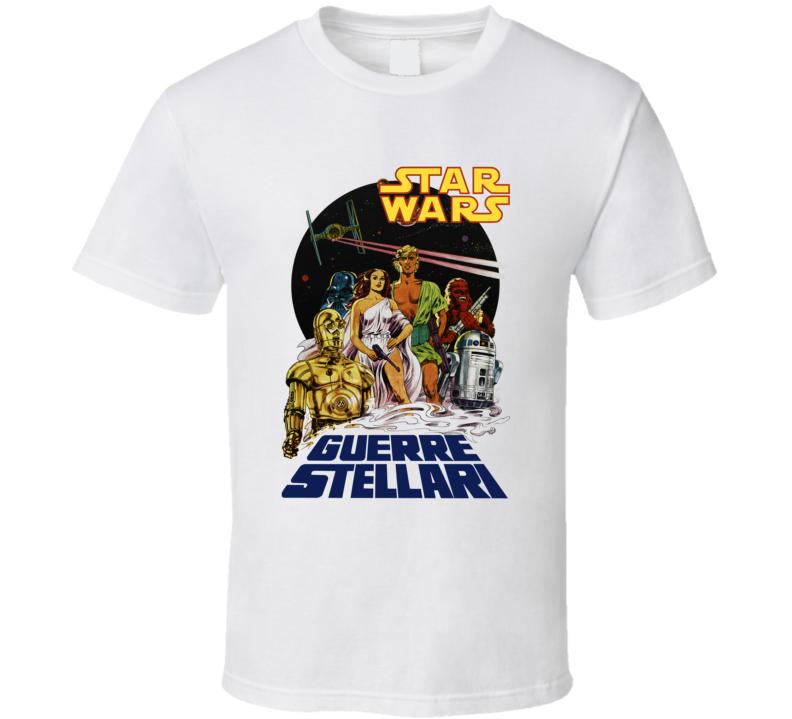 Star Wars Guerre Stellari T Shirt
