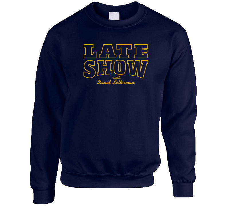 Late Show Crewneck Sweatshirt
