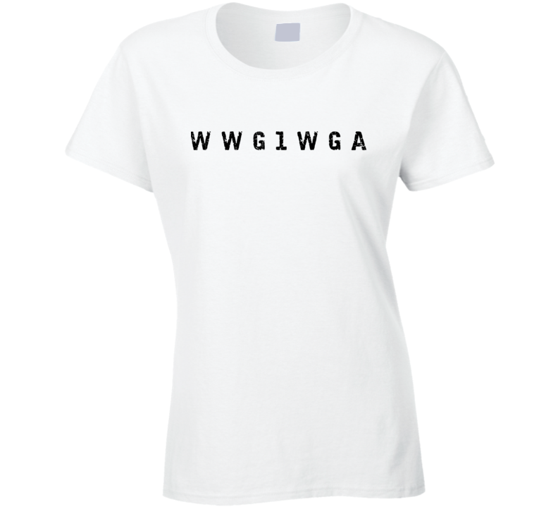 Where We Go One We Go All Ladies T Shirt