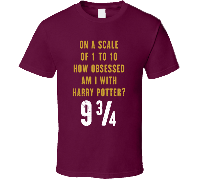 How Obsessed Am I With Harry Potter Distressed T Shirt