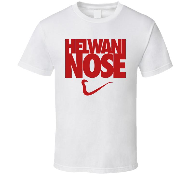 Ariel Helwani Nose MMA White T Shirt