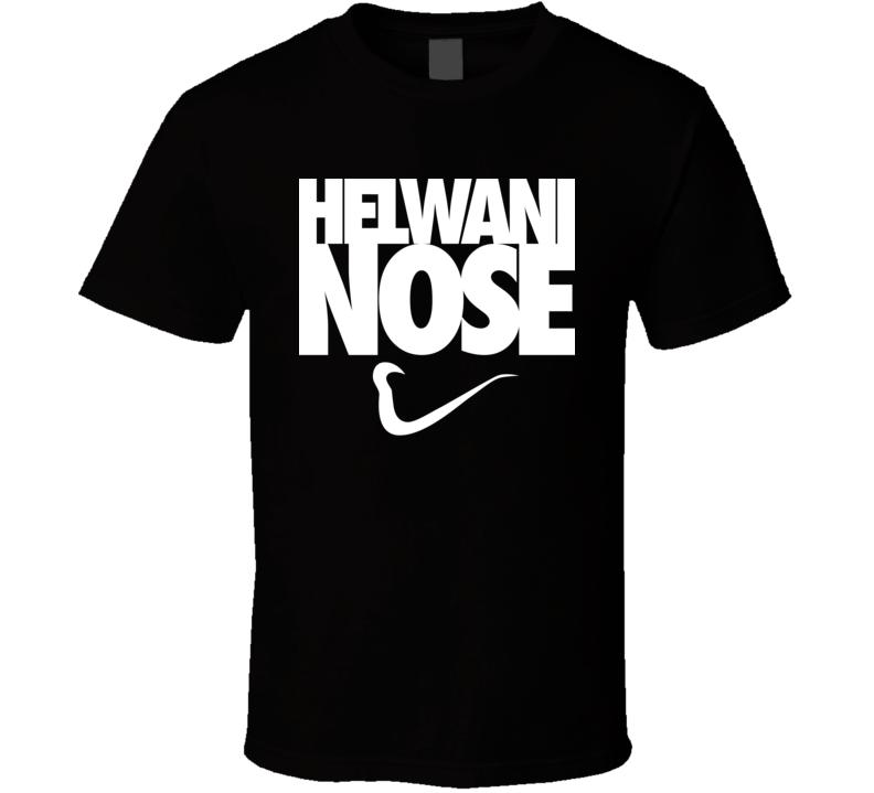 Ariel Helwani Nose MMA Black T Shirt