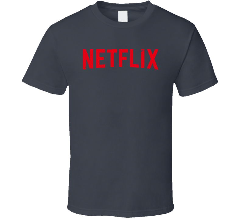 Netflix Logo Worn Look T Shirt