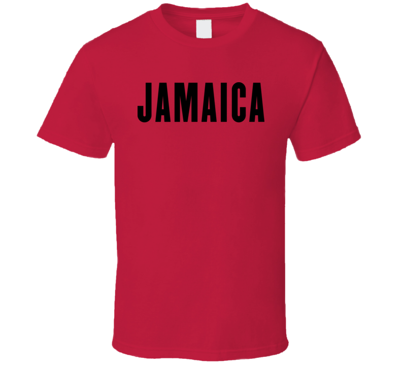 Jamaica Iconic Tourism T Shirt