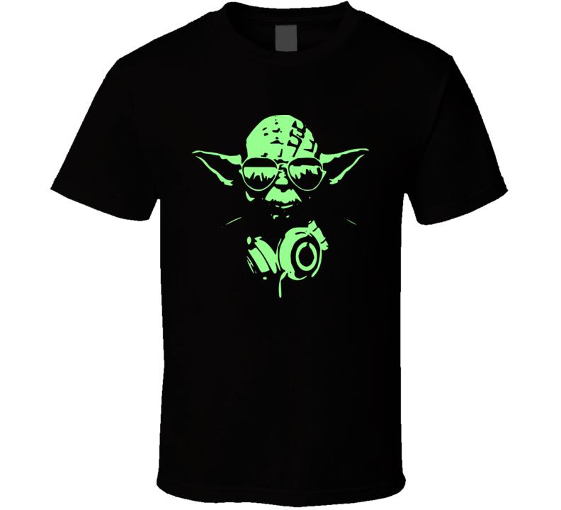 Cool DJ Yoda Star Wars Jedi T Shirt