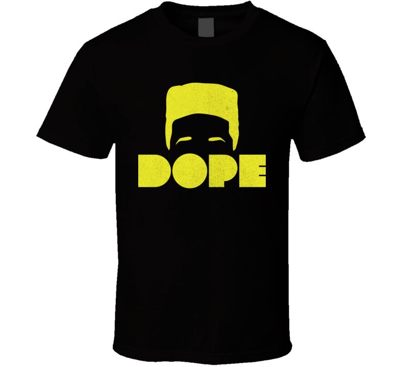 Dope Movie Hi Top Distressed T Shirt