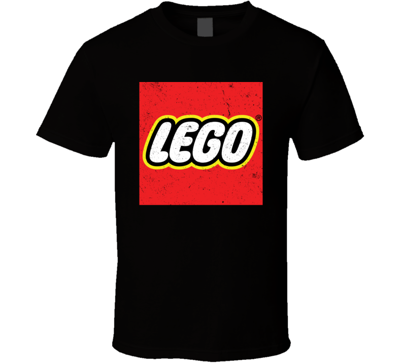 Lego Logo Worn Look T Shirt