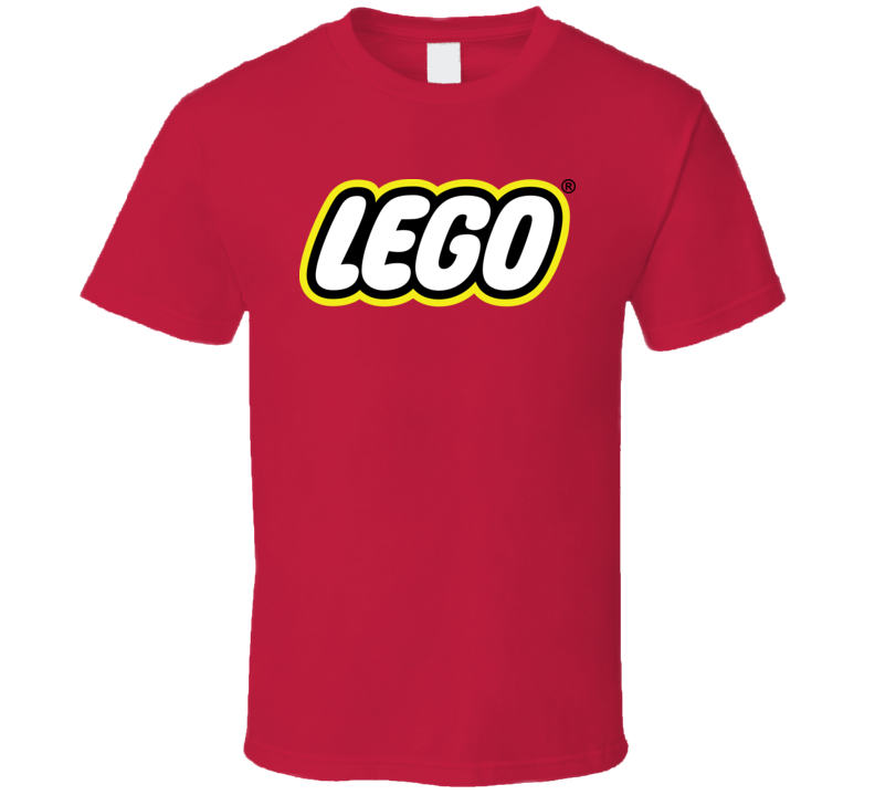 Lego Logo Red T Shirt