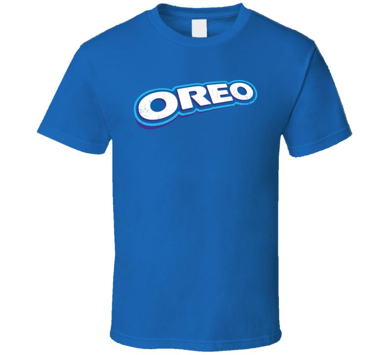 Oreo Cookies Logo Worn Look T Shirt