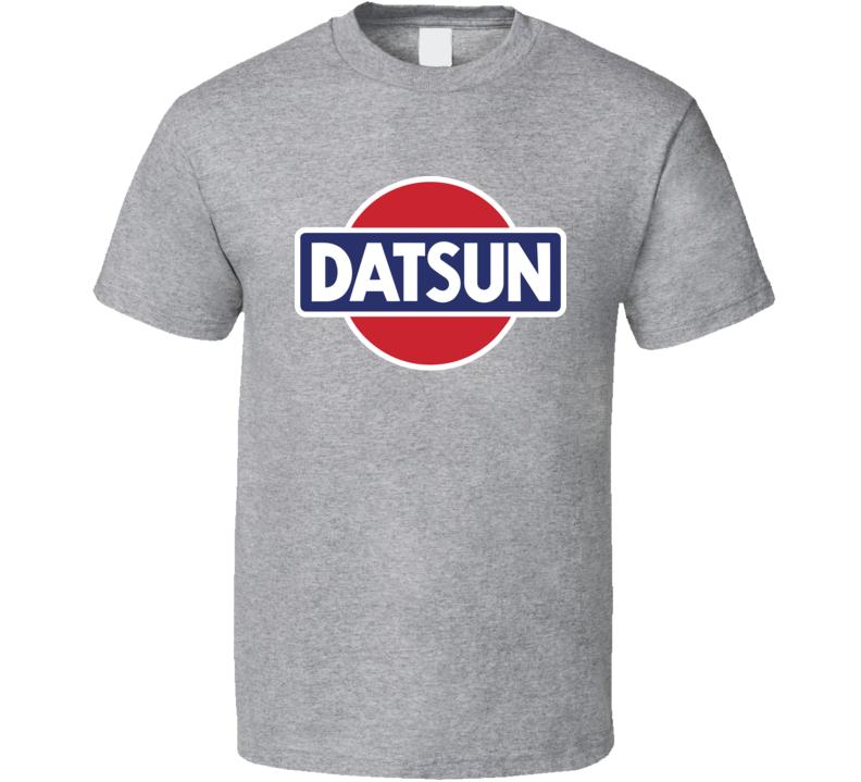 Datsun Nissan Vintage Classic Car Logo T Shirt