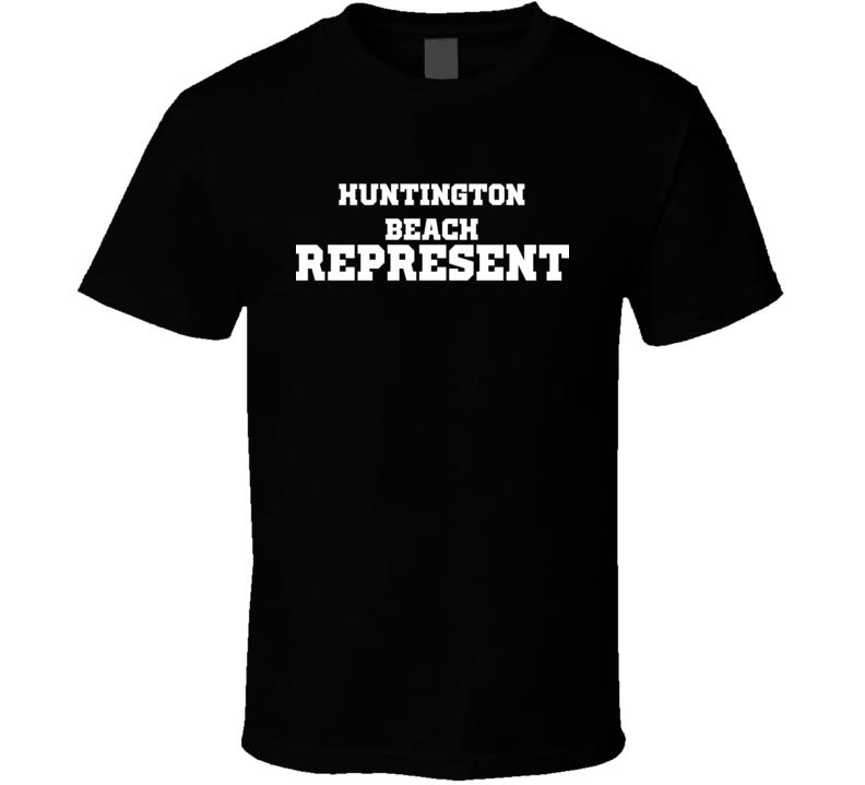 Huntington Beach Represent Nike Nate Diaz MMA Fighters Fighting T Shirt