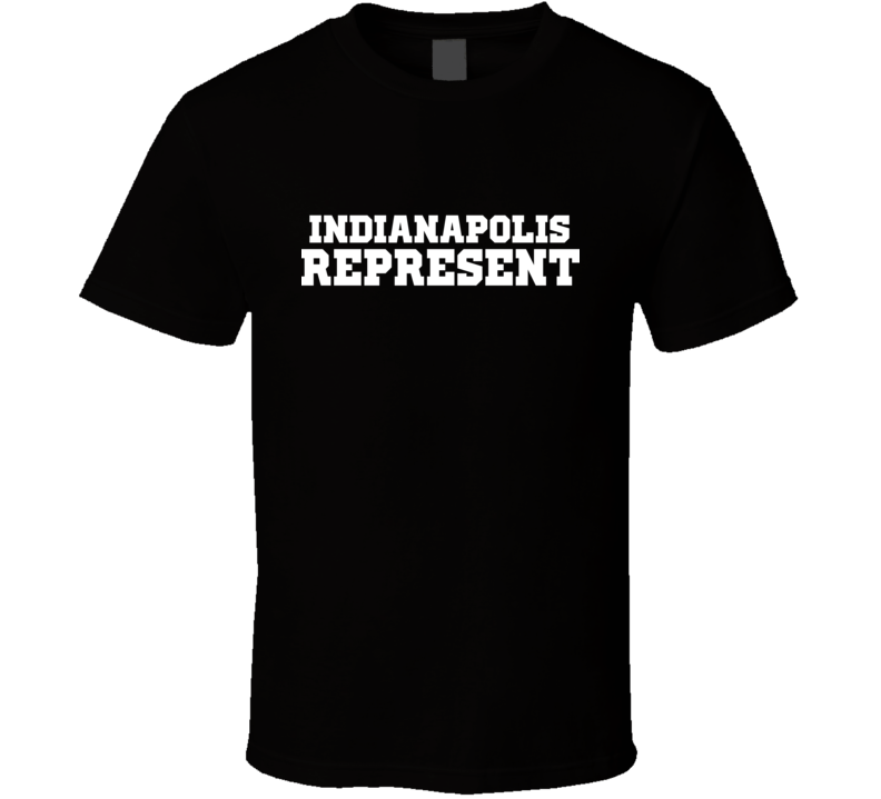 Indianapolis Represent Nike Nate Diaz MMA Fighters Fighting T Shirt