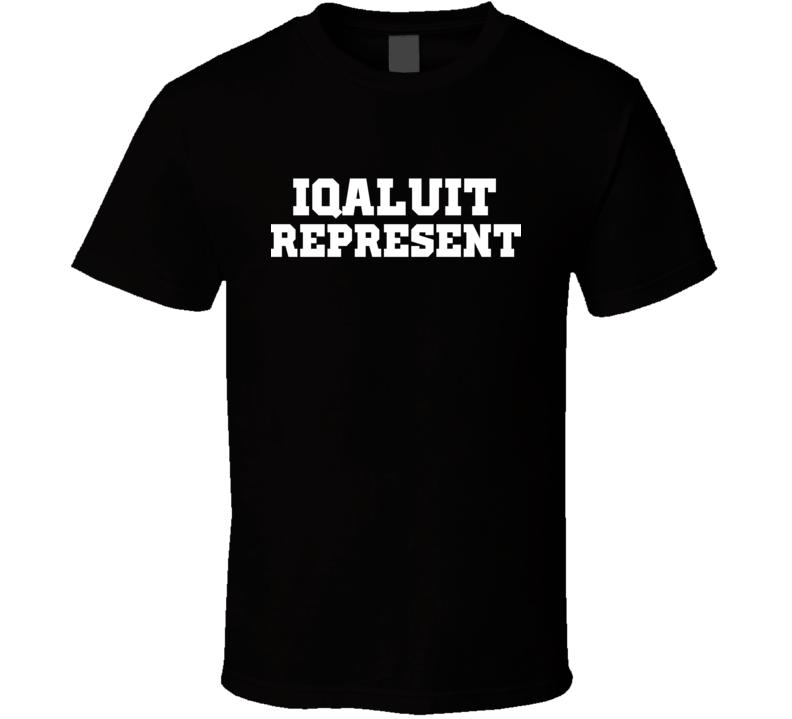 Iqaluit Represent Nike Nate Diaz MMA Fighters Fighting T Shirt