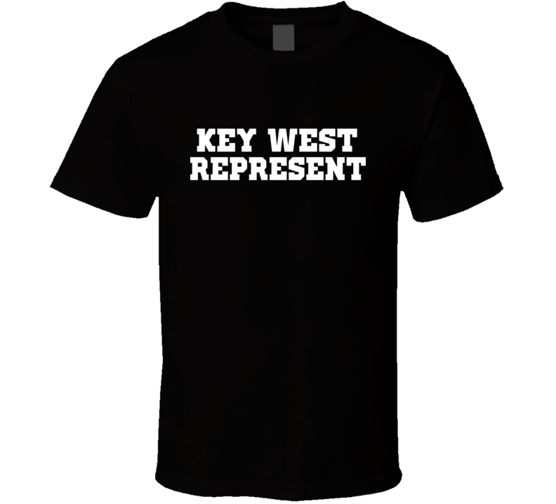 Key West Represent Nike Nate Diaz MMA Fighters Fighting T Shirt