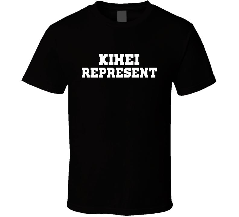 Kihei Represent Nike Nate Diaz MMA Fighters Fighting T Shirt